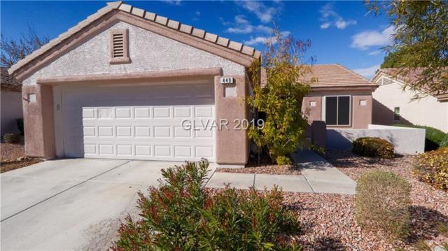 449 Golden State, Henderson, NV 89012 (MLS #2068936) :: Vestuto Realty Group