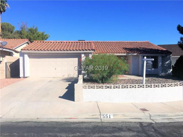 551 Sheffield, Henderson, NV 89014 (MLS #2069545) :: The Snyder Group at Keller Williams Marketplace One