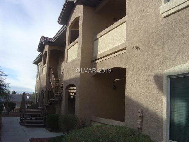 2305 Horizon Ridge #2012, Henderson, NV 89052 (MLS #2069571) :: The Snyder Group at Keller Williams Marketplace One