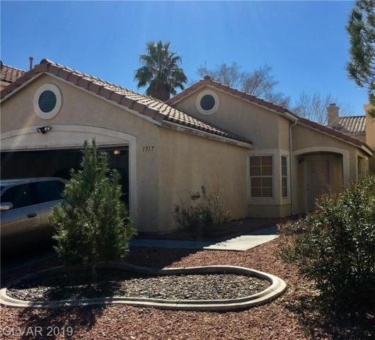 1717 Council Bluff, North Las Vegas, NV 89031 (MLS #2070081) :: Vestuto Realty Group