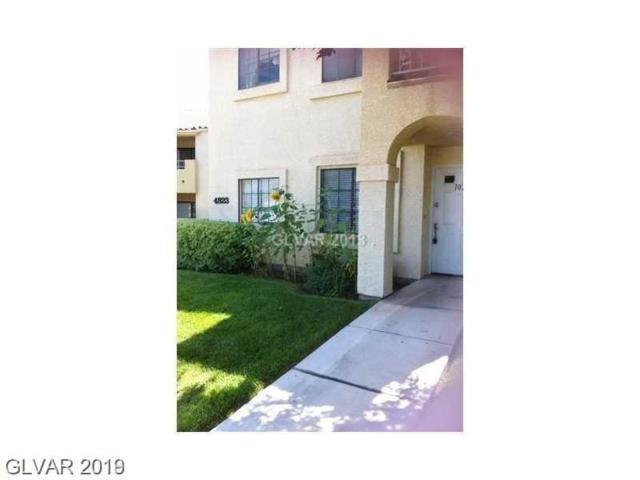 4823 Torrey Pines #102, Las Vegas, NV 89103 (MLS #2070458) :: Vestuto Realty Group