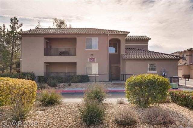 4685 Apulia #201, North Las Vegas, NV 89084 (MLS #2070976) :: The Snyder Group at Keller Williams Marketplace One