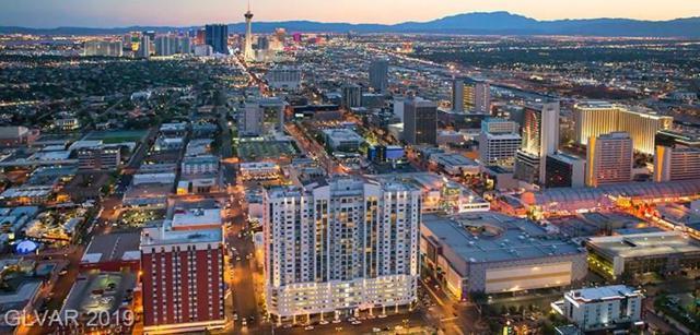 150 N Las Vegas #1213, Las Vegas, NV 89101 (MLS #2070993) :: Sennes Squier Realty Group