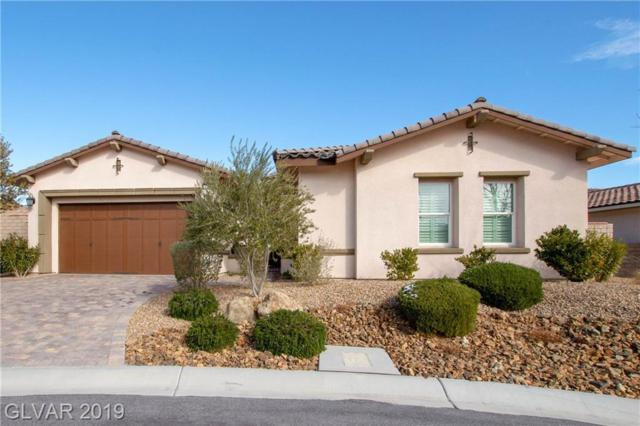 724 Puerto Real, Las Vegas, NV 89138 (MLS #2071360) :: The Snyder Group at Keller Williams Marketplace One