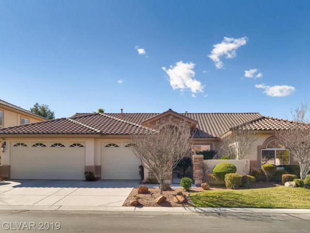 10647 San Bellacova, Las Vegas, NV 89141 (MLS #2072817) :: The Snyder Group at Keller Williams Marketplace One