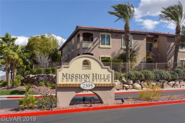 2305 Horizon Ridge #2511, Henderson, NV 89052 (MLS #2073349) :: Trish Nash Team