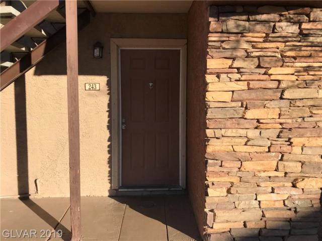 5320 Indian River #243, Las Vegas, NV 89103 (MLS #2073805) :: Trish Nash Team
