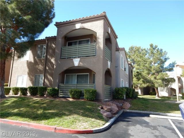 2121 Blue Breeze #104, Las Vegas, NV 89128 (MLS #2074756) :: Vestuto Realty Group