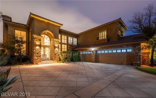 800 Petit Chalet, Las Vegas, NV 89145 (MLS #2075127) :: The Snyder Group at Keller Williams Marketplace One