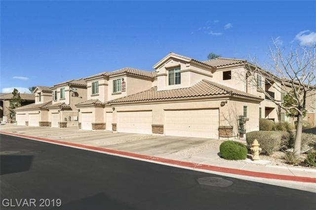 6640 Abruzzi #104, North Las Vegas, NV 89084 (MLS #2075583) :: Trish Nash Team