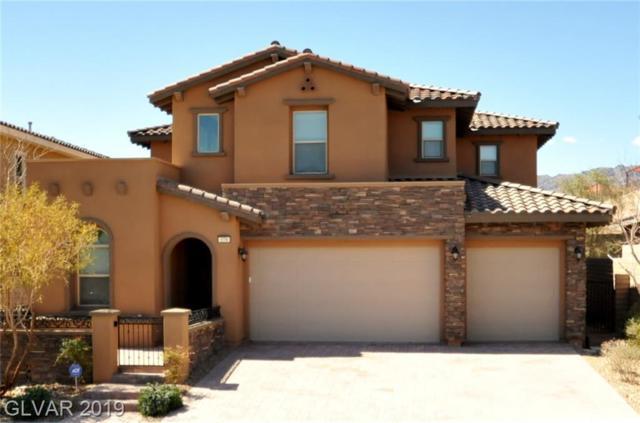 279 Castellari, Las Vegas, NV 89138 (MLS #2075714) :: Capstone Real Estate Network