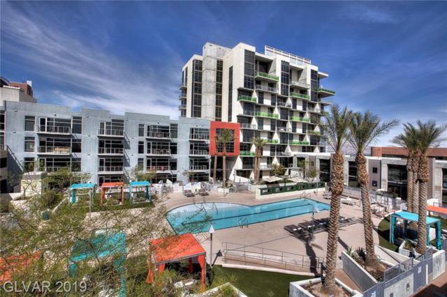 353 Bonneville #713, Las Vegas, NV 89101 (MLS #2075795) :: The Snyder Group at Keller Williams Marketplace One