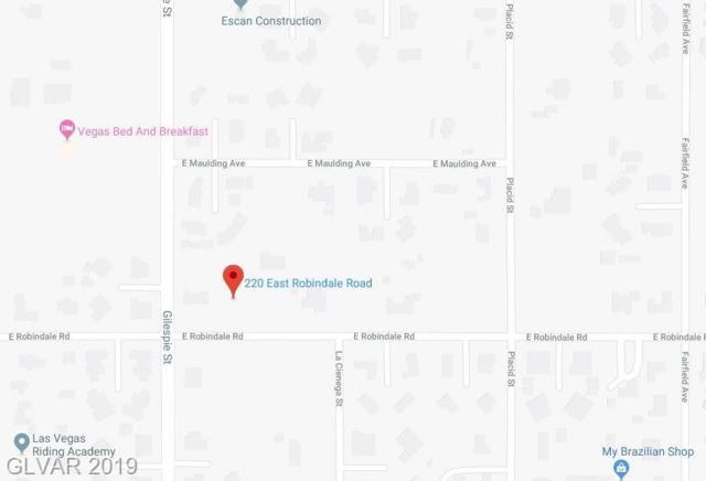 220 Robindale, Las Vegas, NV 89123 (MLS #2075933) :: Trish Nash Team