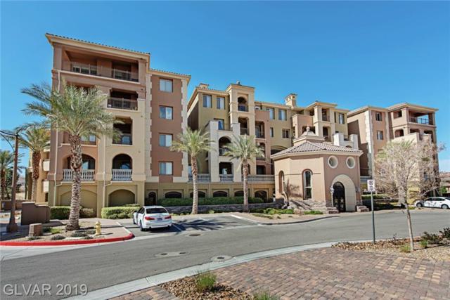 30 Via Mantova #208, Henderson, NV 89011 (MLS #2076334) :: Signature Real Estate Group