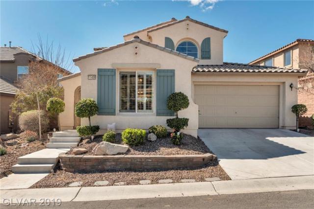11409 Via Spiga, Las Vegas, NV 89138 (MLS #2077285) :: Vestuto Realty Group