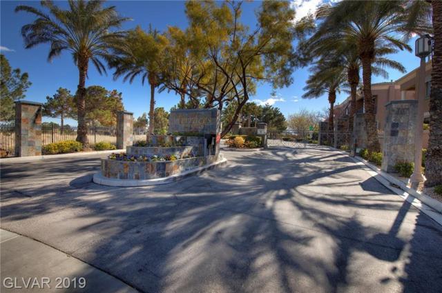 808 Dana Hills #104, Las Vegas, NV 89134 (MLS #2077397) :: Vestuto Realty Group