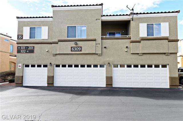 6309 Desert Leaf #2, North Las Vegas, NV 89081 (MLS #2077595) :: Trish Nash Team