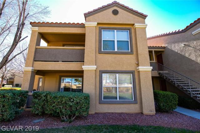2300 Silverado Ranch #1033, Las Vegas, NV 89183 (MLS #2077902) :: The Snyder Group at Keller Williams Marketplace One