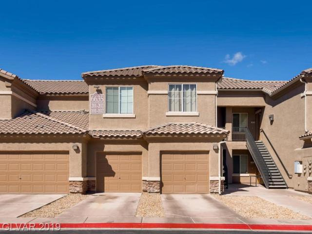 6635 Caporetto #102, North Las Vegas, NV 89084 (MLS #2078498) :: Trish Nash Team
