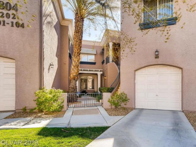 804 Dana Hills #102, Las Vegas, NV 89134 (MLS #2078683) :: Vestuto Realty Group