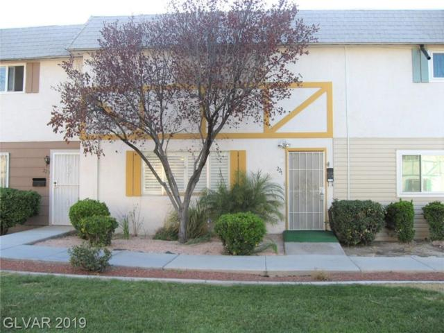 221 Greenbriar Townhouse, Las Vegas, NV 89121 (MLS #2078825) :: The Snyder Group at Keller Williams Marketplace One
