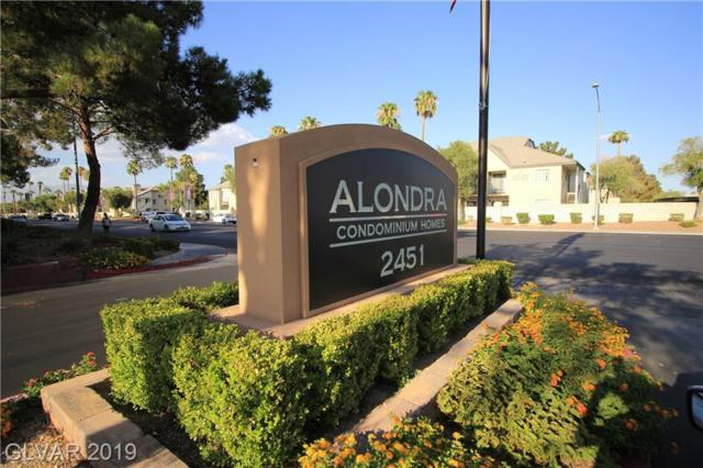 2451 Rainbow #2081, Las Vegas, NV 89108 (MLS #2078991) :: The Snyder Group at Keller Williams Marketplace One