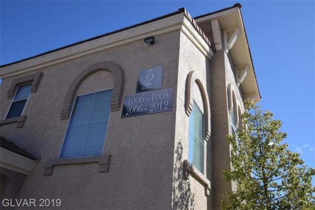 10550 Alexander #1007, Las Vegas, NV 89129 (MLS #2079028) :: Vestuto Realty Group