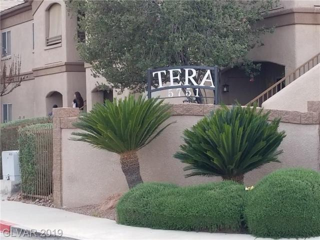 5751 Hacienda #128, Las Vegas, NV 89122 (MLS #2080126) :: The Snyder Group at Keller Williams Marketplace One