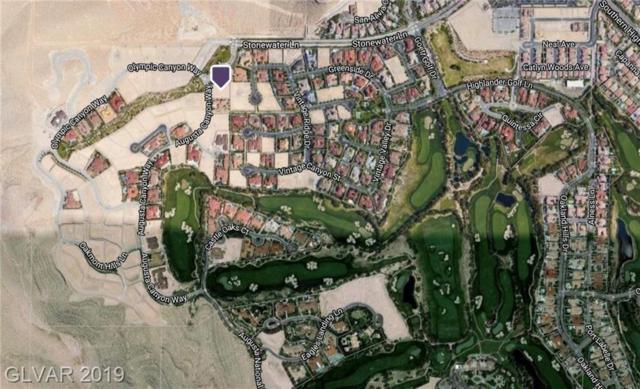 2 Augusta Canyon, Las Vegas, NV 89141 (MLS #2084915) :: Trish Nash Team