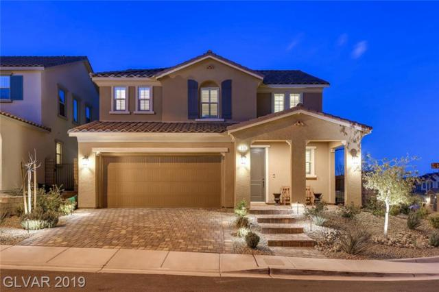 478 Cabral Peak, Las Vegas, NV 89138 (MLS #2084926) :: Five Doors Las Vegas