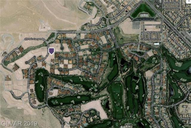 10 Augusta Canyon, Las Vegas, NV 89141 (MLS #2084956) :: Trish Nash Team