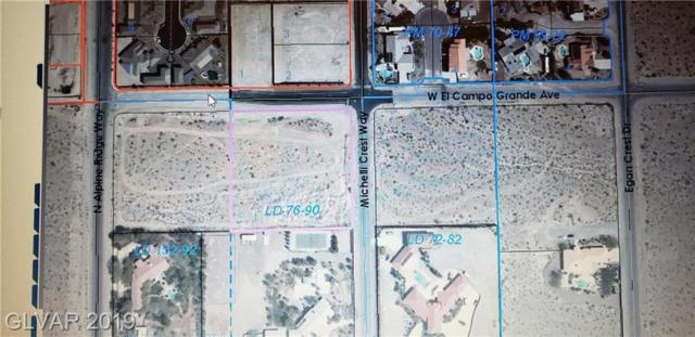 W. La Mancha And  N. Alpine Way, Las Vegas, NV 89149 (MLS #2085494) :: The Snyder Group at Keller Williams Marketplace One