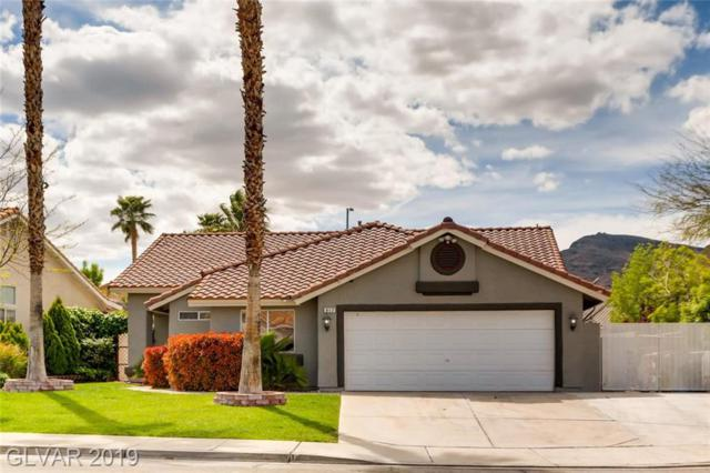 817 Coastal Beach, Henderson, NV 89002 (MLS #2085636) :: Five Doors Las Vegas