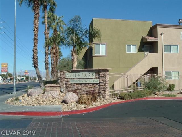 3318 Decatur #1157, Las Vegas, NV 89130 (MLS #2086255) :: Vestuto Realty Group