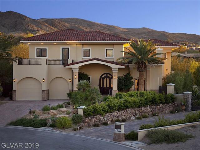 7 Via Ravenna, Henderson, NV 89011 (MLS #2086415) :: Vestuto Realty Group