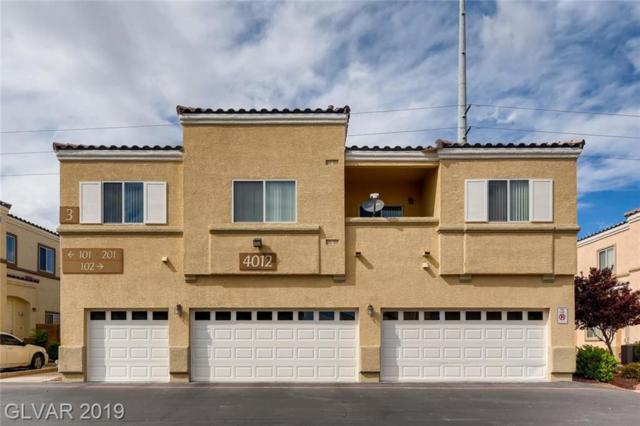 4012 Smokey Fog #201, North Las Vegas, NV 89081 (MLS #2087290) :: Five Doors Las Vegas