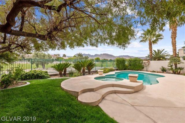 1809 Corta Bella, Las Vegas, NV 89134 (MLS #2088725) :: Five Doors Las Vegas