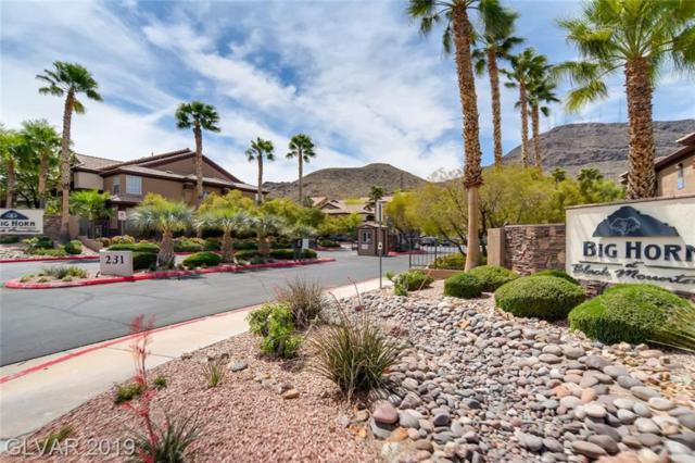 231 W Horizon Ridge Pkwy #1423, Henderson, NV 89012 (MLS #2088792) :: Vestuto Realty Group