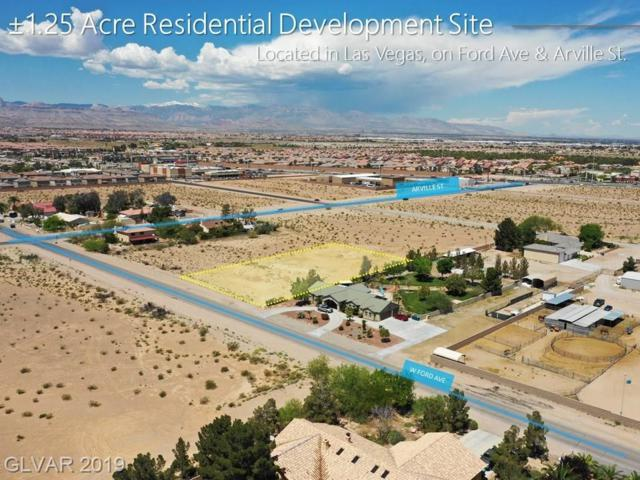 Ford Ave, Las Vegas, NV 89139 (MLS #2089166) :: Vestuto Realty Group