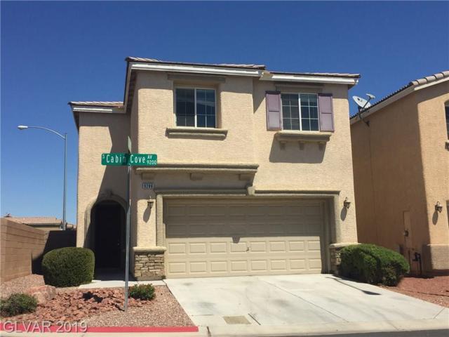 9288 Cabin Cove, Las Vegas, NV 89148 (MLS #2093020) :: Signature Real Estate Group