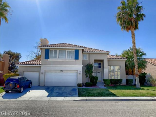 1021 Moorpoint, North Las Vegas, NV 89031 (MLS #2094081) :: Vestuto Realty Group