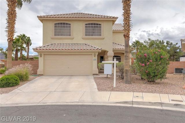 200 Oella Ridge, Henderson, NV 89012 (MLS #2094699) :: Signature Real Estate Group