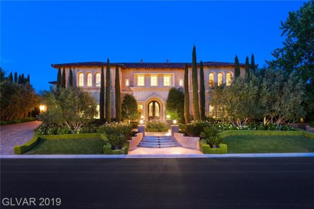 30 Augusta Canyon, Las Vegas, NV 89141 (MLS #2095050) :: The Snyder Group at Keller Williams Marketplace One
