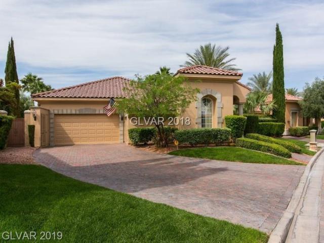 25 Via Paradiso, Henderson, NV 89011 (MLS #2095858) :: Signature Real Estate Group