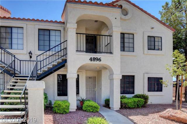 4896 Nara Vista #102, Las Vegas, NV 89103 (MLS #2096198) :: Signature Real Estate Group