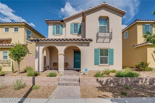 2118 Via Firenze, Henderson, NV 89044 (MLS #2096625) :: Trish Nash Team