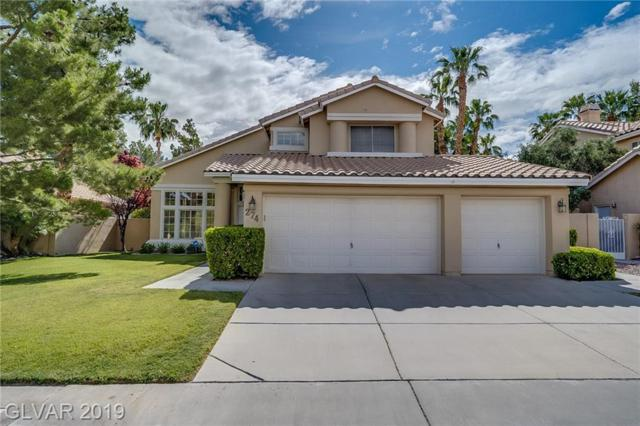 274 El Camino Verde, Henderson, NV 89074 (MLS #2098103) :: ERA Brokers Consolidated / Sherman Group