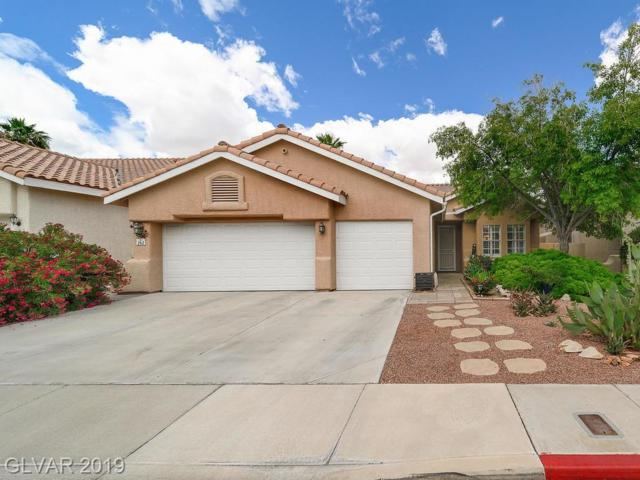 262 Whitewater Village, Henderson, NV 89012 (MLS #2098183) :: The Snyder Group at Keller Williams Marketplace One