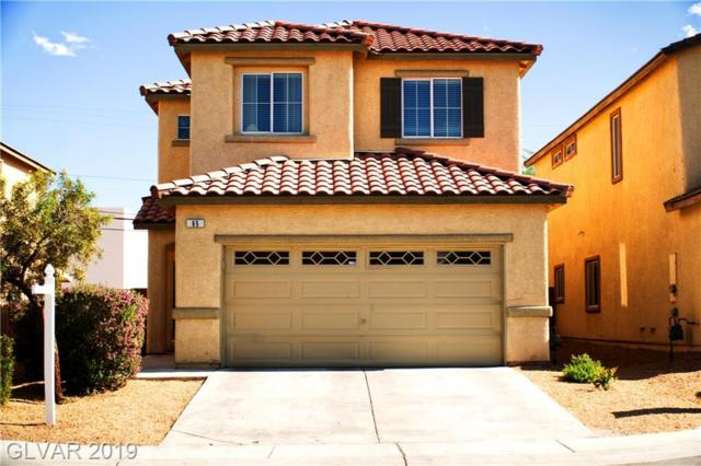 65 Rosa Rosales, North Las Vegas, NV 89031 (MLS #2098408) :: The Snyder Group at Keller Williams Marketplace One
