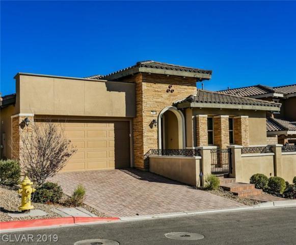 312 Castellari, Las Vegas, NV 89138 (MLS #2098821) :: Trish Nash Team